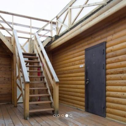 Благоустроенные домики с доп. местом и террасой на крыше