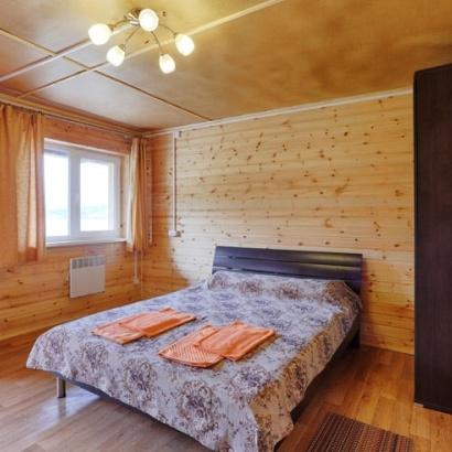 Двухместный номер класса люкс с индивидуальным входом и видом на Байкал