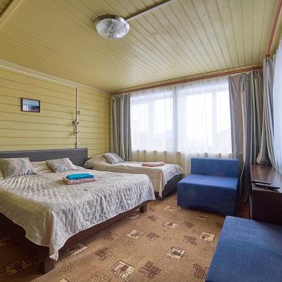 Солнечные домики бунгало с кухней и верандой до 4-х человек