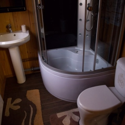 Двухместный стандарт санузел и душ в номере
