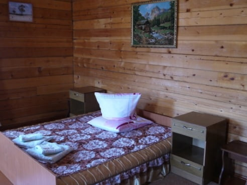 Двухместный семейный эконом санузел и душ на этаже