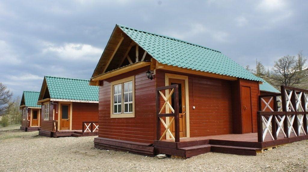 Отдельный дом на берегу Байкала (1 местный/2х местный/3х местный)