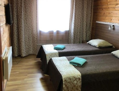 Апартаменты 1 этаж (кухня + 2 спальни) 10 коттедж
