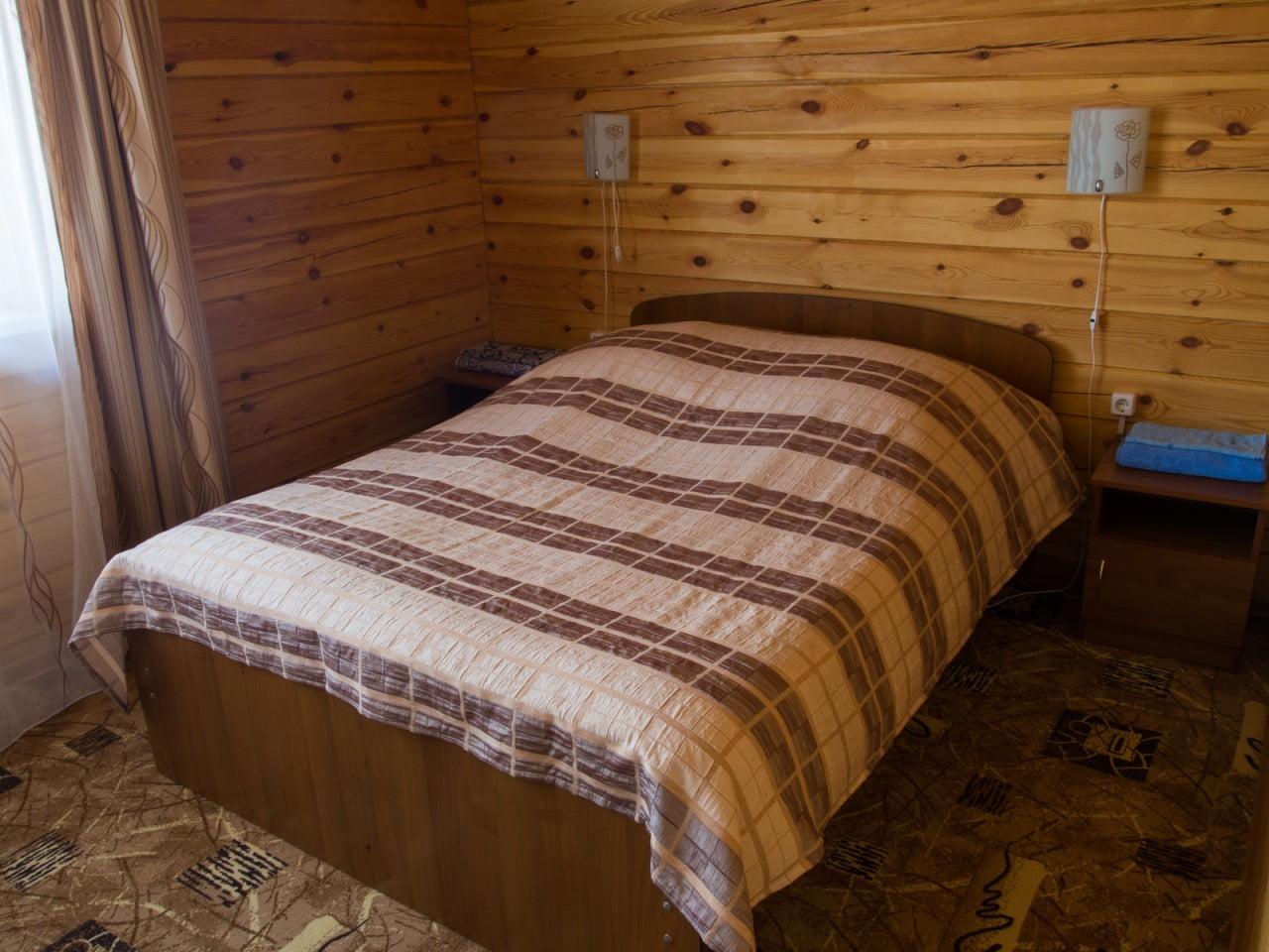 Коттедж люкс с видом на оз. Байкал (завтрак) 4+2