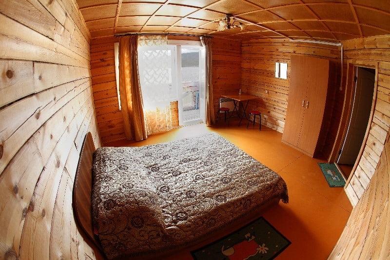 Двухместный с балконом и видом на Байкал