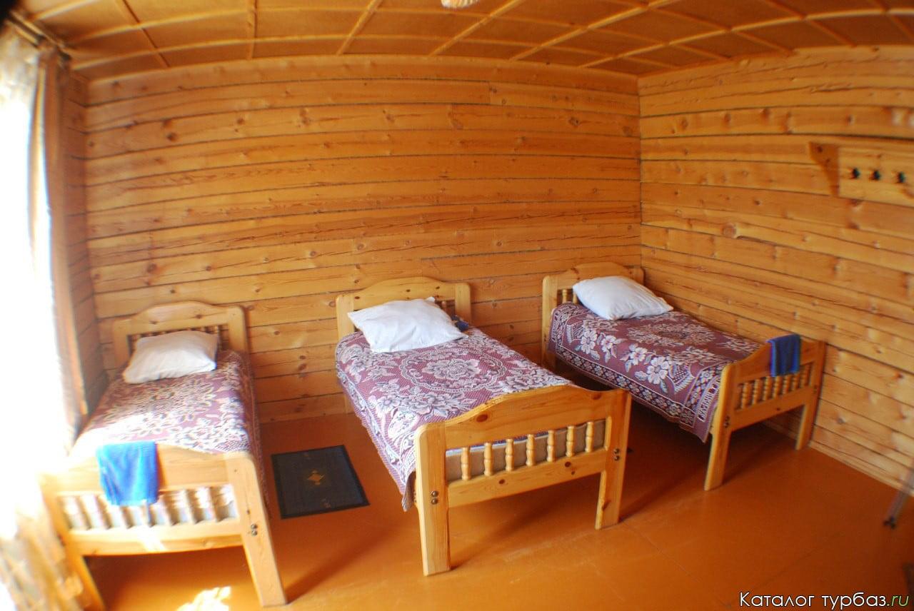 Двухместный номер с отдельным входом и видом на Байкал