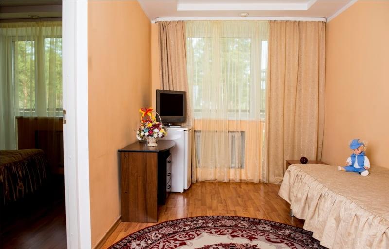 Люкс двухместный спальный корпус №1