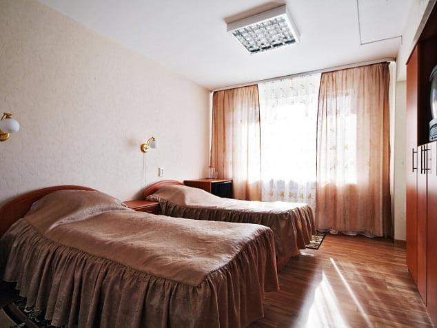 Трёхместный номер спальный корпус №2