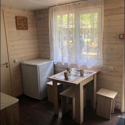 Благоустроенный дом без плиты № 7,8, 9 четырёхместное размещение