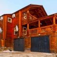 Двухуровневый коттедж «VIP» 10 (+2) местный с видом на озеро Байкал