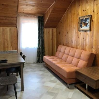 Апартаменты 2 этаж (кухня + 2 спальни) коттедж 4